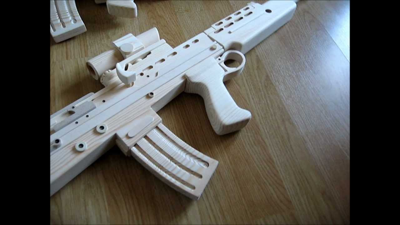 Wooden Sa80 L85a2 Revised Nov 2012 Youtube