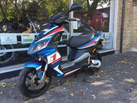 piaggio nrg power 50cc 2009 review & start up - youtube