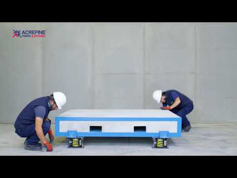 How To Install Seismic & Vibration Isolator With Top Plate