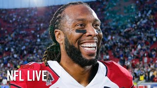 Larry Fitzgerald returning for his 17th season with the Cardinals | NFL Live