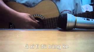 [guitar cover] bài happy birthday bằng 6 thứ tiếng