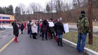 VIDEO: West Virginia teachers go on strike over education bill