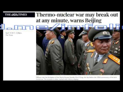 "[ASIAN HEADLINES] #2: ""BEIJING WARNS THERMO-NUCLEAR WAR ANY MINUTE!"" #ww3"