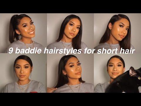 Baddie Hairstyles For Short Hair