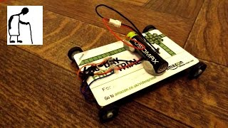 Electric Car 4 motors Gift Card Chassis