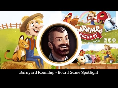 Barnyard Roundup - Board Game Spotlight
