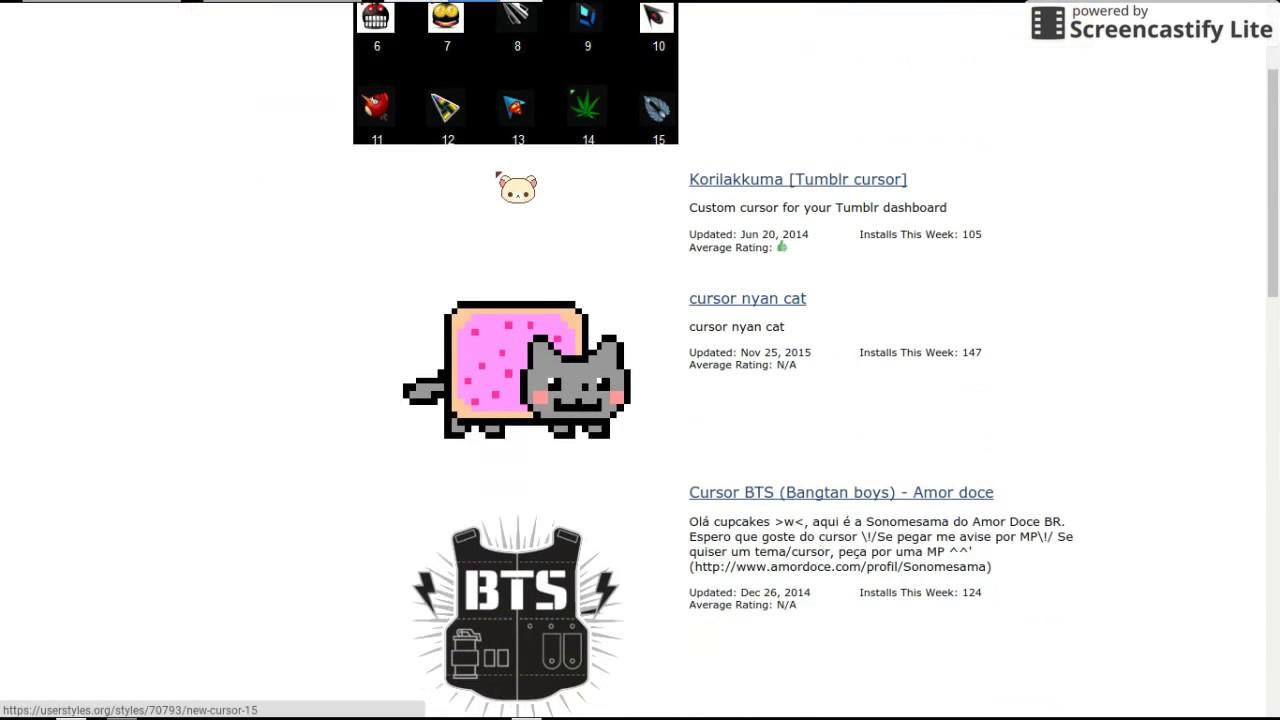How to get a custom cursor (CHROMEBOOK EDITION)❗️