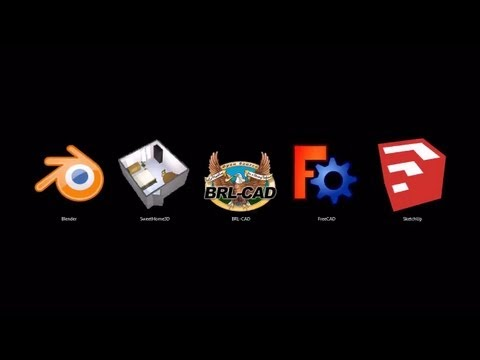 Best 3D Design and Animation Software (Open Source / Free)