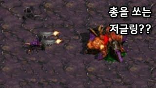 권총을 든 저글링 - 스타크래프트1