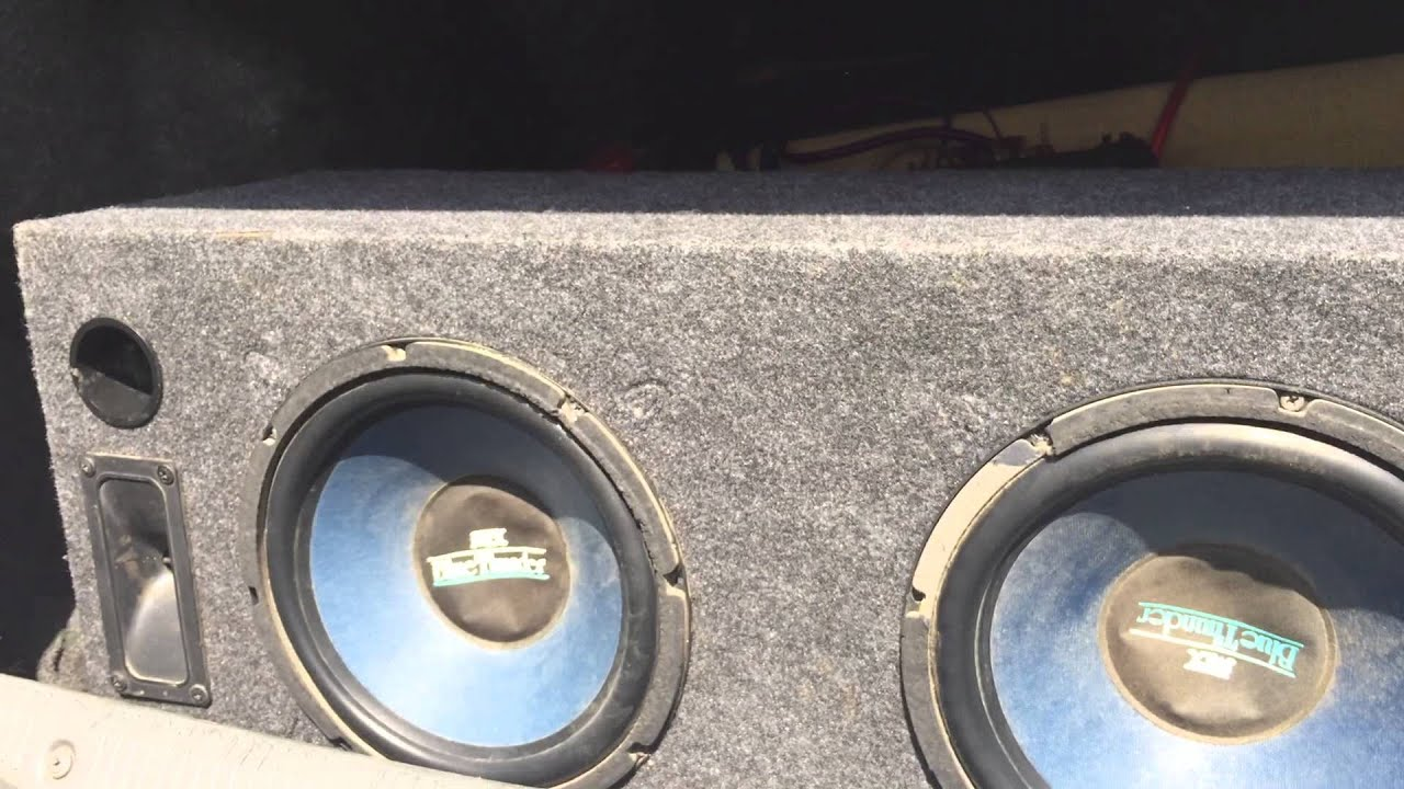 Mtx Bluethunder Old School 10 Subwoofer Youtube Orion Xtr Wiring