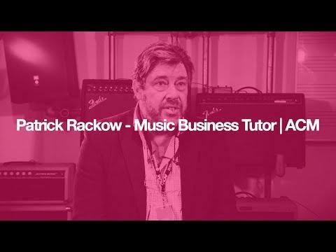 Patrick Rackow - Music Business Tutor | ACM