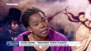 Fatou DIOME tâcle Le Pen, Fillon,