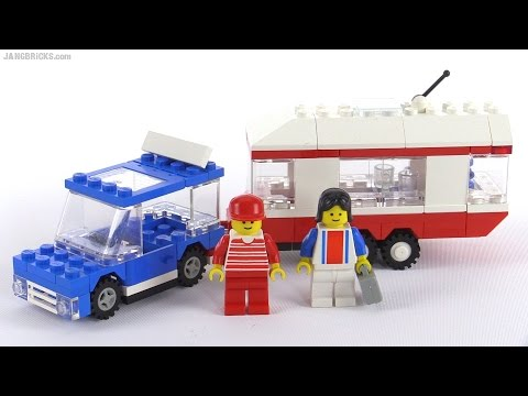 LEGO classic Town Vacation Camper from 1988! set 6590