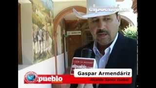 No hay seguridad en Santa Isabel: Gaspar Armendáriz