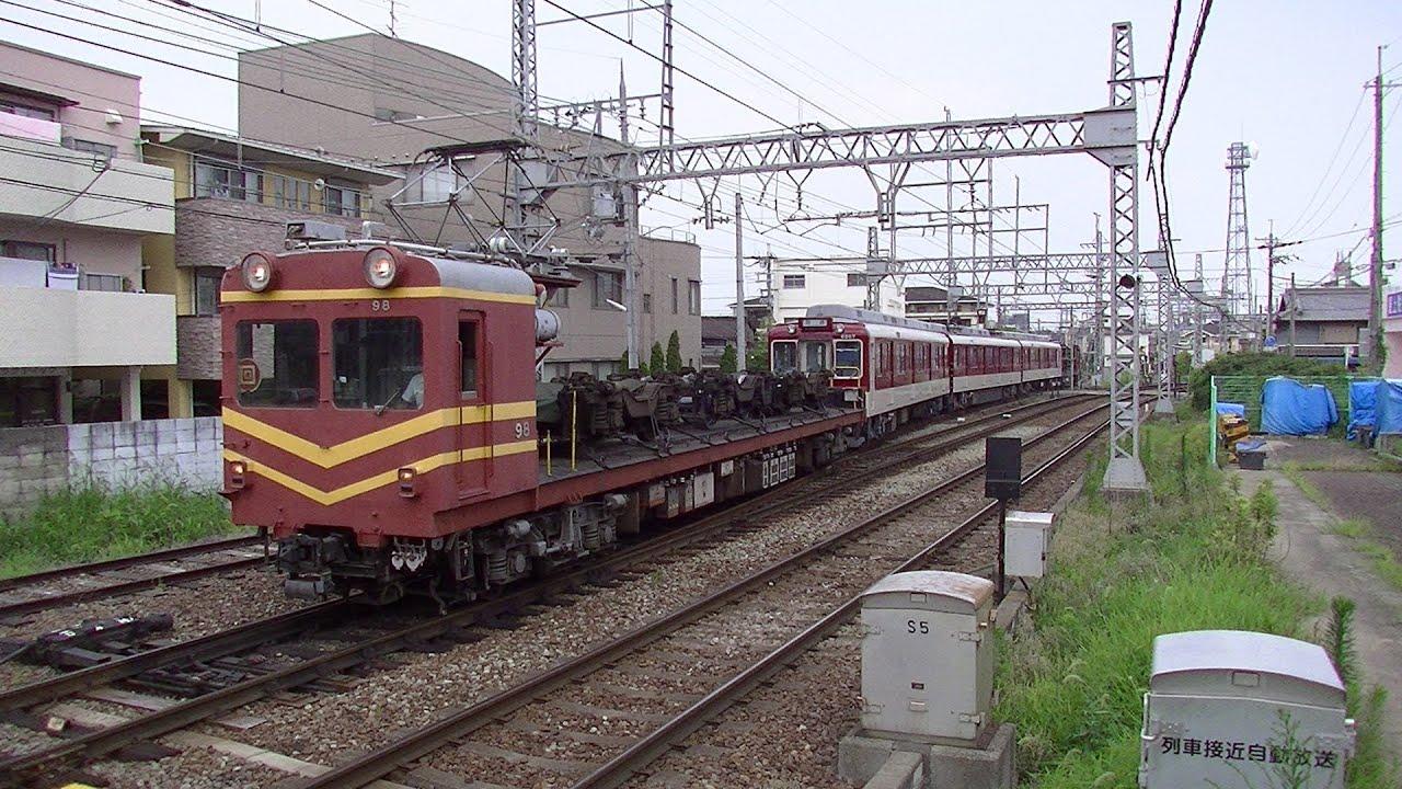 近鉄モト51形 with 南大阪線6200...