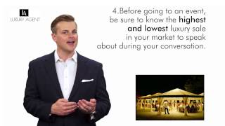 Luxury Agent |  5 Luxury Cocktail Conversations Tips.