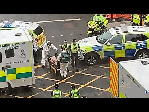 Suspected attacker shot dead in Glasgow major incident