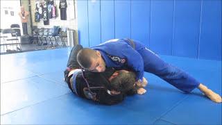 One arm choke – BJJ side control attacks