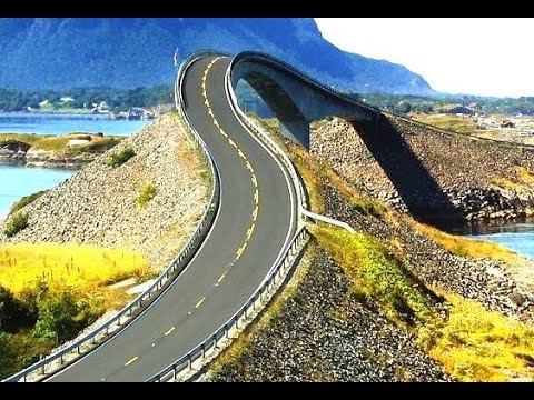 A trip to Atlantic Road, Norway
