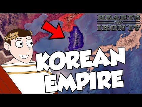 Trying To Create Korean Empire on Hearts of Iron 4 HOI4 Modern Day Mod