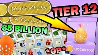 Baixar SPENDING 85bil COINS ON *OP* DELUXE BEST PETS ( Tier 12 ) !!! - Roblox Pet simulator