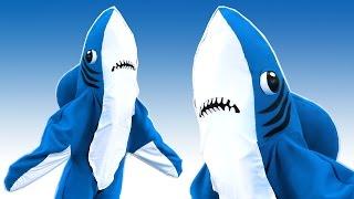 DIY LEFT SHARK COSTUME