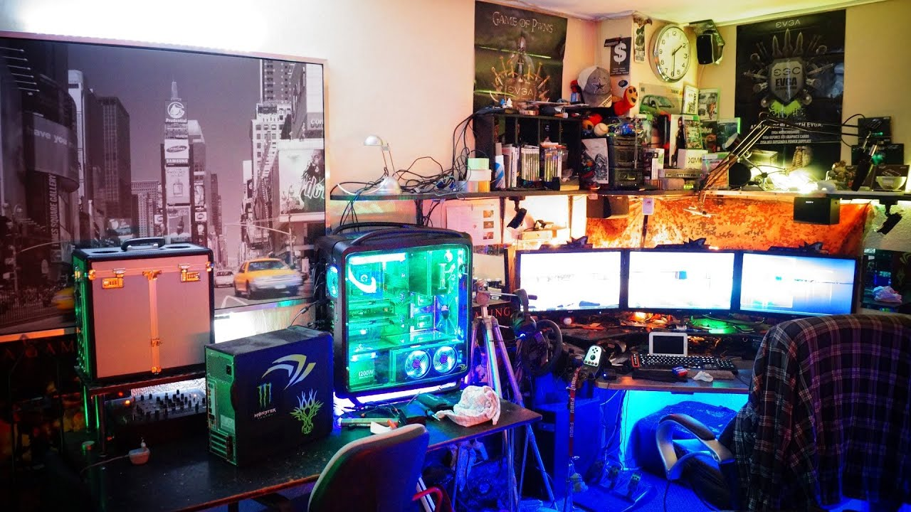 Man Cave For Gamers : Packing down of my man cave furious pc gaming rig