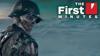 The First 15 Minutes of Call of Duty WW2: Zombies - The Tortured Path DLC