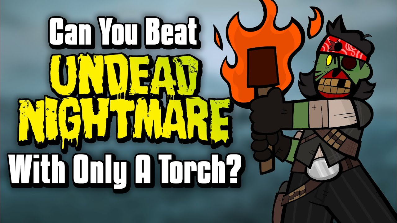 Can You Beat RDR: Undead Nightmare With Only A Torch?