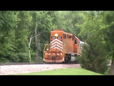 EJ&E 665 With NXTRACK Pullman Coach - Chase in Cedar Rapids, IA!