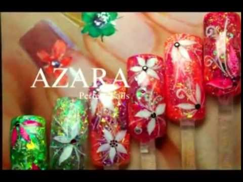 Nail Art Design Blumen Gelnagel Blutenmotive Blume Flower