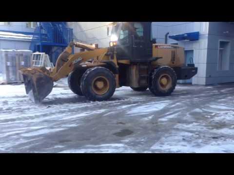 XCMG LW300K. Уборка снега на Красноярск Энергосбыт. Спецпартнер.рф