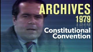 A constitutional convention: How well would it work? (1979) | ARCHIVES