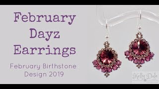February Dayz Earrings - Must Know Monday 2/11/19
