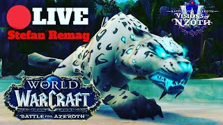 🔴[LIVE]  Cafeaua de dimineata cu World of Warcraft Visions of N'Zoth | beast master hunter😃💪✌👊