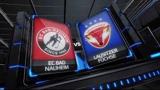 DEL2 Highlights 49 Spieltag | EC Bad Nauheim vs. Lausitzer Füchse