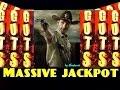 ** JACKPOT HANDPAY ** The WALKING DEAD slot machine Max Bet HUGE JACKPOT WIN
