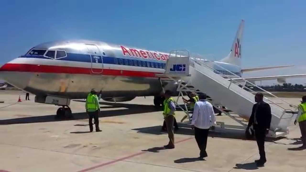 Cap Haitien Airport, Haiti - JCI (CAP) giving Ground ... American Airlines Flights