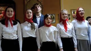 Песня Батюшка Серафим.Где ангелы поют святые... Пасха 2019 #pmk_cheb