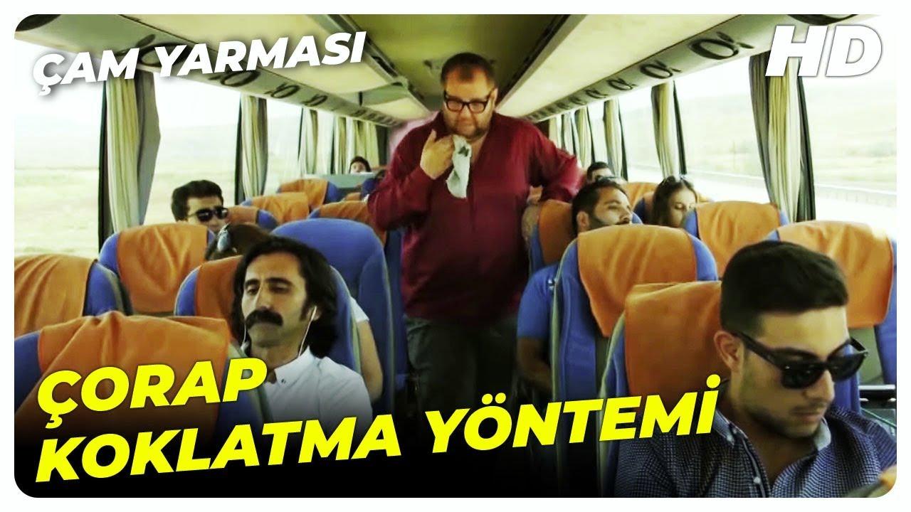 Çorap Koklatarak Çocuk Uyutma | Çam Yarması Türk Komedi Filmi