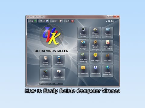 How to Easily Delete Computer Viruses