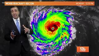 13News Now Weather forecast update for September 10, 2018