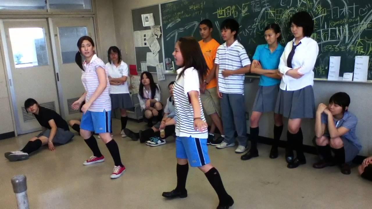 1B ESCA ダンス練習3 - YouTube