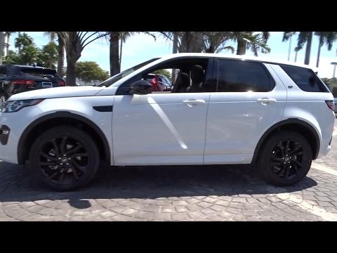 2017 Land Rover Discovery Sport Miami, Aventura, Fort Lauderdale, Broward, Miami Beach, FL NHH683231