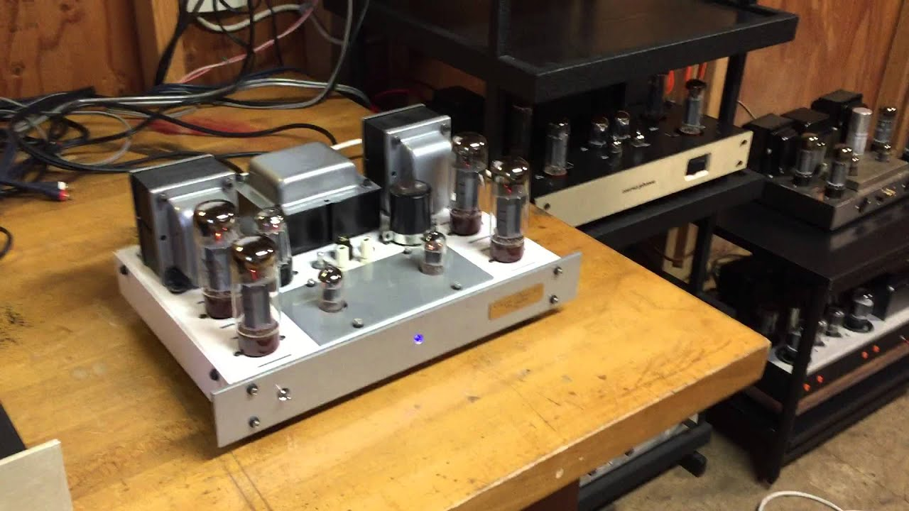 will vincent custom dynaco st tube power amplifier
