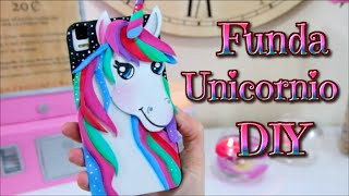 DIY - Kawaii Funda Unicornio para telefono movil o celular