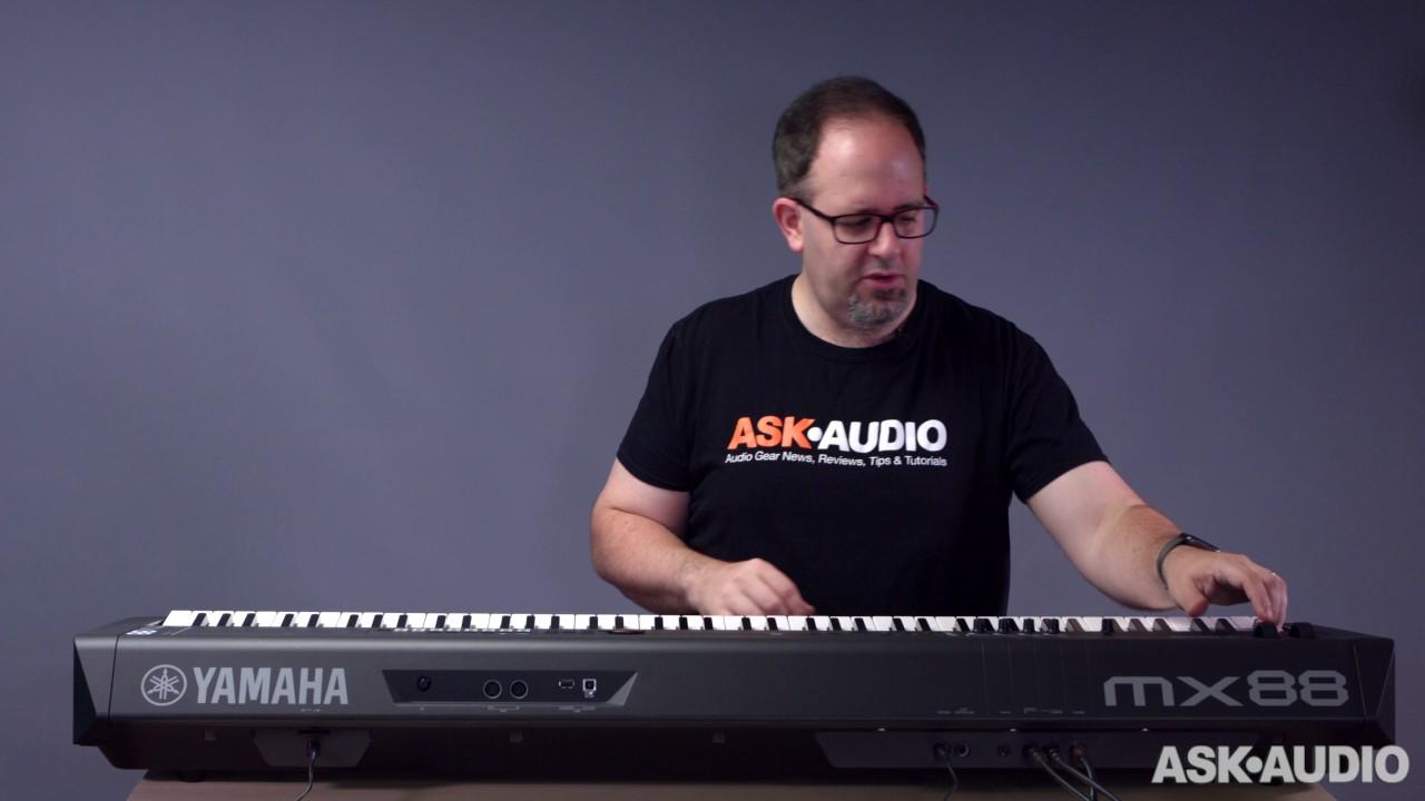Review: Yamaha MX88 : Ask Audio