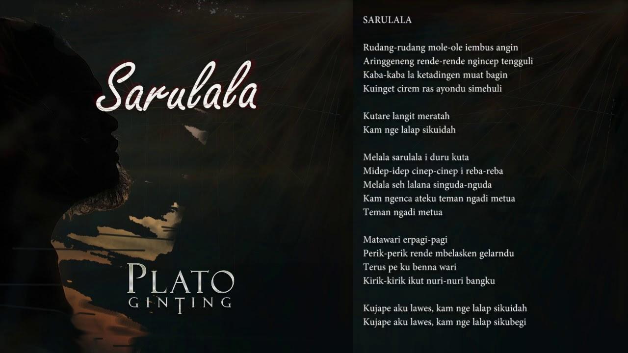 Plato Ginting - SARULALA (Lagu Karo Terbaru)