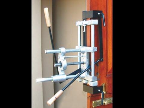 Door Lock Side \u0026 Front Mortiser - Lonjan Machinery & Door Lock Side \u0026 Front Mortiser - Lonjan Machinery - YouTube
