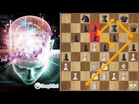 Deep Mind AI Alpha Zero's Positional Masterpiece With the Black Pieces